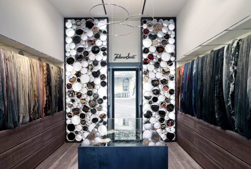 Faliero Sarti. A new concept for the flagship boutique