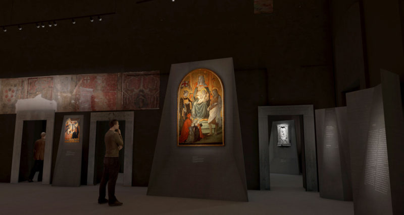 Museo Civico di Prato. A new design for the permanent collection