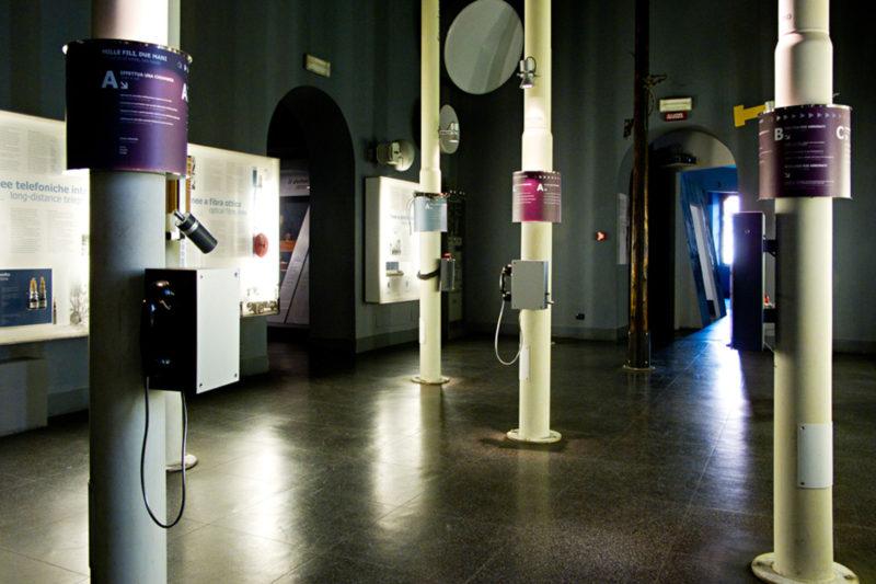 Telecommunications. Science Museum Leonardo da Vinci | Milan