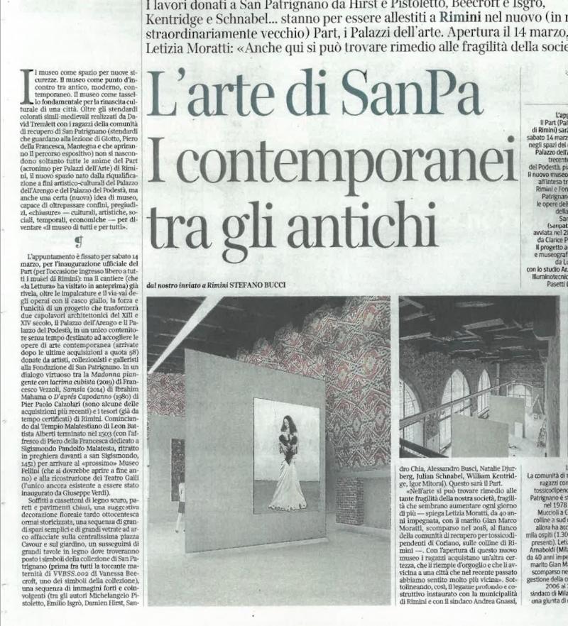 Corriere della Sera   La lettura N. 430 / 2020