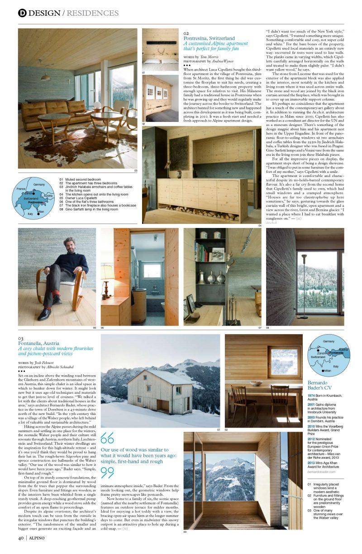 Monocle Alpino   Issue 08
