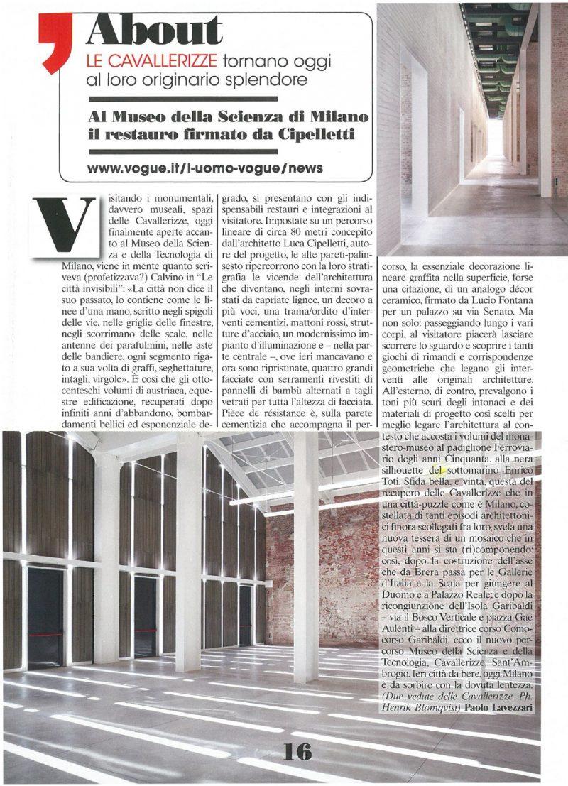 L'Uomo Vogue n.470   April 2016